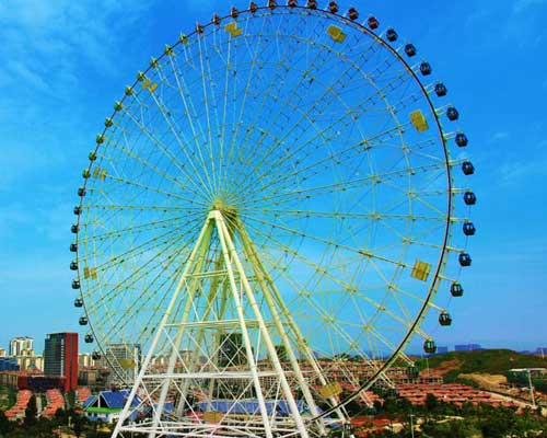 60 cabins ferris wheel for sale