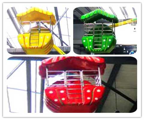 Colorful Beautiful Ferris Wheel Cabins