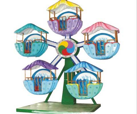 5 cabins Ferris wheel
