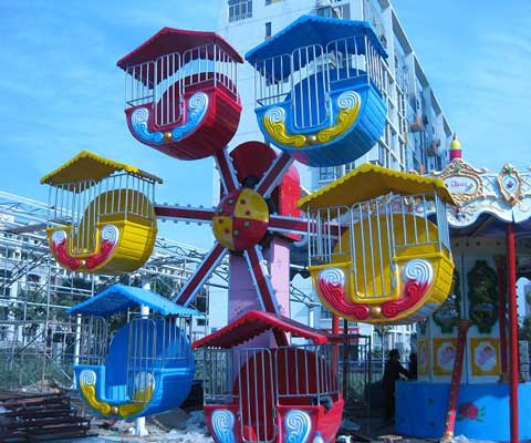 Colorful Small Observation Wheel