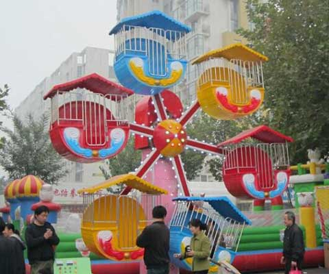 Mini amusement feeris wheel ride for kids