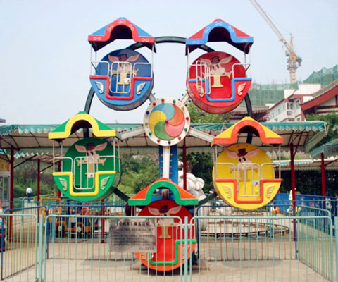 Small Ferris Wheel Fairground Ride For Sale