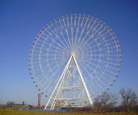Beston giant ferris amusement wheel ride