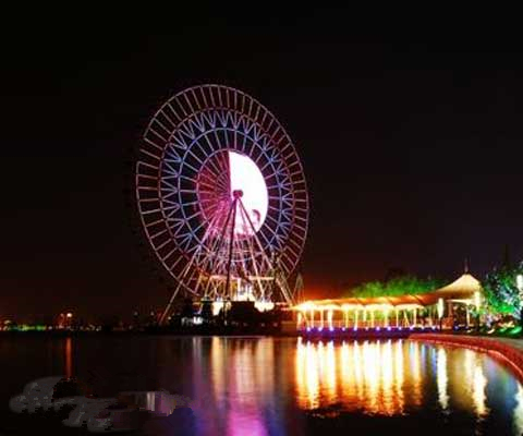 Water Ferris Wheel In Suzhou