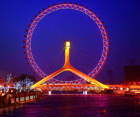 Giant Tianjin Eye Ferris Wheel