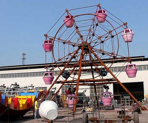 Carnival Ride Ferris Wheel with 15 Meter