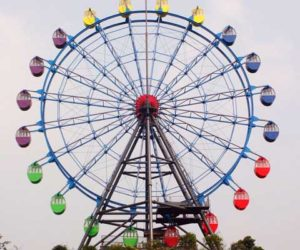 Amusement park large ferris wheel with 32 meter for sale