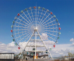 Our 49 Meter Ferris Wheel to Mexico Customer