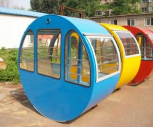 Round Type Cabin for a 49 Meter Ferris Wheel