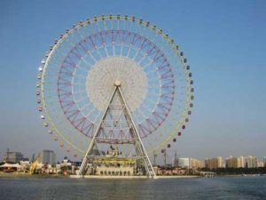 Beston Ferris Wheel Ride With 120 Meter