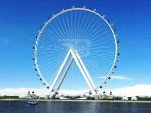Carnival Ferris Wheel With 108 Meter