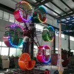 6 Gondolas Mini Ferris Wheel for Sale