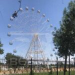 Beston 42 Meter Ferris Wheel Installed at Uzbekistan